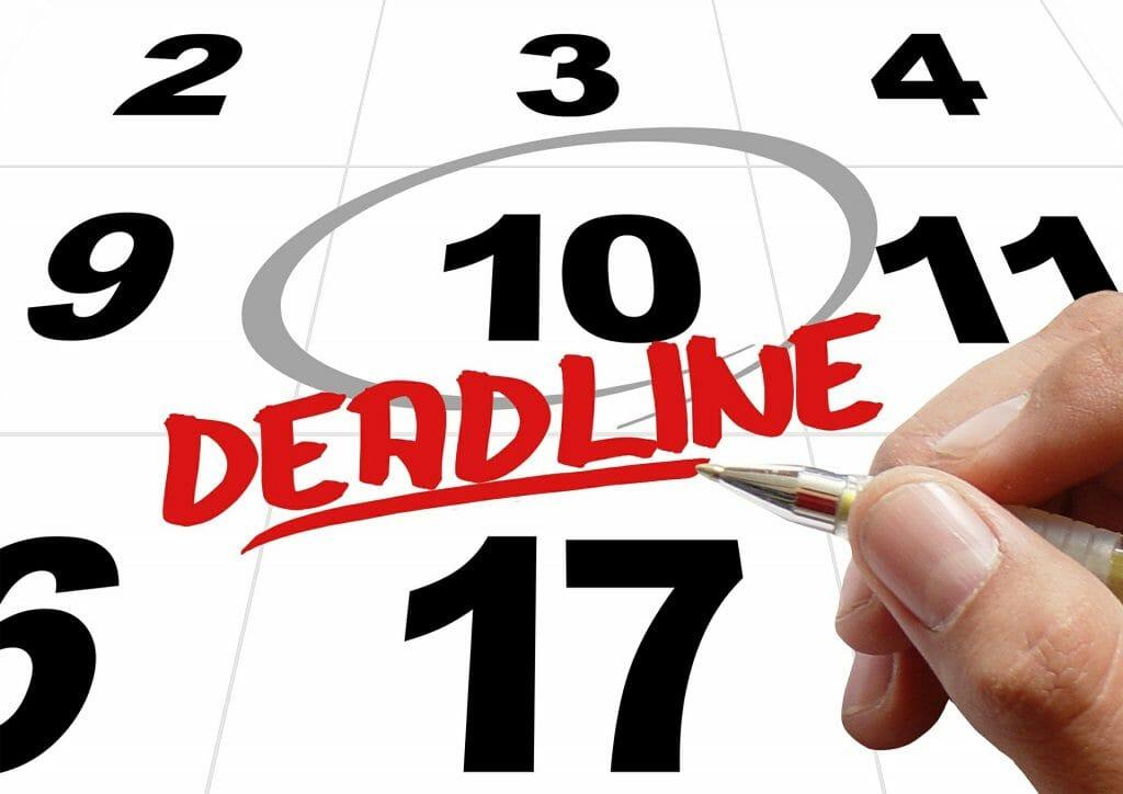 team deadlines image