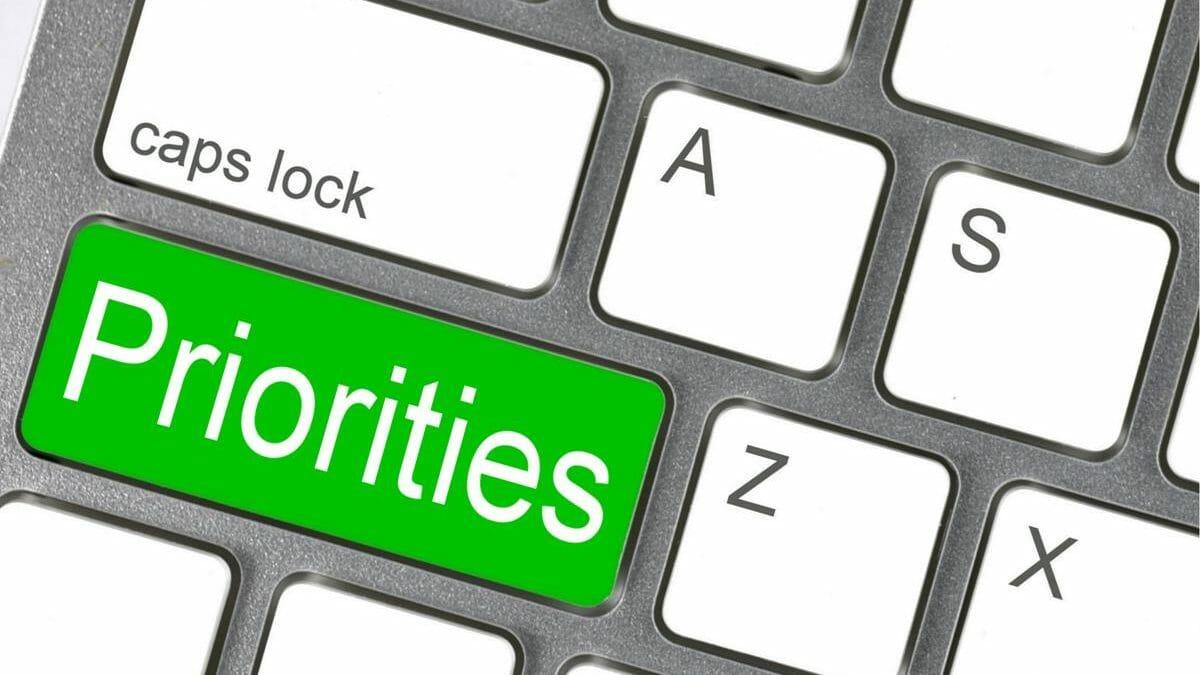 prioritize tasks and meetings